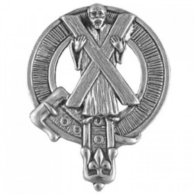 St Andrews Cap Badge