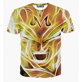 Camiseta Super Sayan Vegeta Dragon Ball