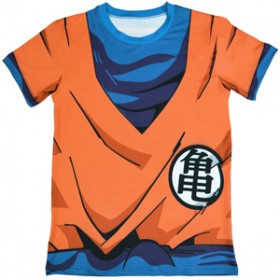 Camiseta Traje Anime Dragon Ball Esportiva