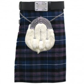 Kilt Deluxe Purple Honour Of Scotland Highland 16 onças 8 Jardas