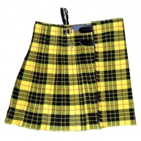 Kilt Tartan Geoffrey | Macleoud Scottish Black Leather 5 JARDAS 10 ONÇAS