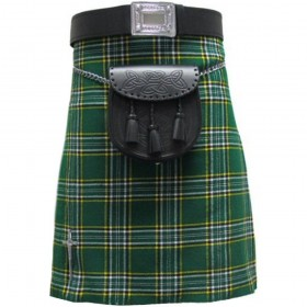 Kilt Irish Plaid/Tartan 5 Jardas 10 onças