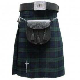 Kilt Black Watch 5 Jardas 10 Onças Scottish Highland