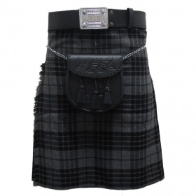 Kilt Grey Granite 5 Jardas 10 Onças Scottish Highland