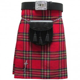 Kilt Royal Stewart 5 Jardas 10 onças Scottish Highland