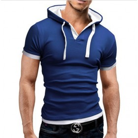 Camiseta Esportiva Homme Summer Blue White