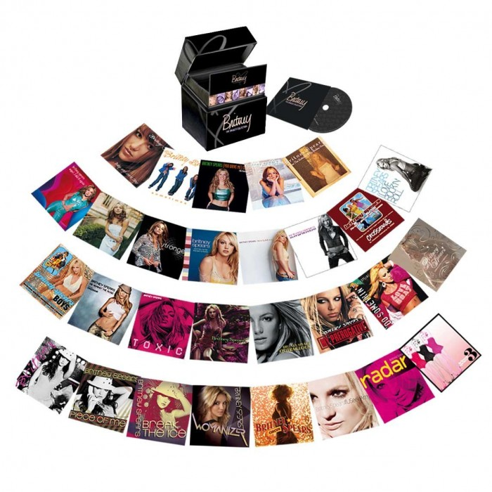 box britney spears the singles collection 29 cds dvd