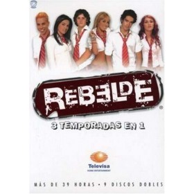 Box Rbd Rebelde - As 3 Temporadas - Ed Especial Importado