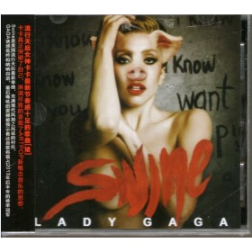 CD Single Lady Gaga - Swine & Mary Jane Holland - Single Japonês