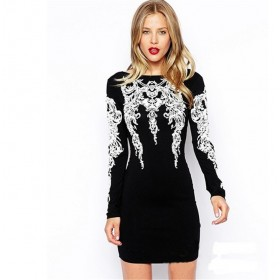 Vestido Bodycon Bandage Sexy Night Club