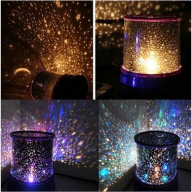 Abajur Led Constelação (Starry Night Sky Projector Lamp)