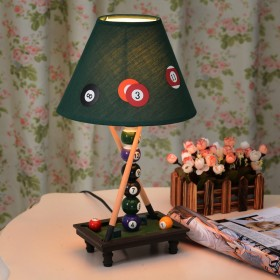 Abajur Snooker Bilhar (Table Lamp)